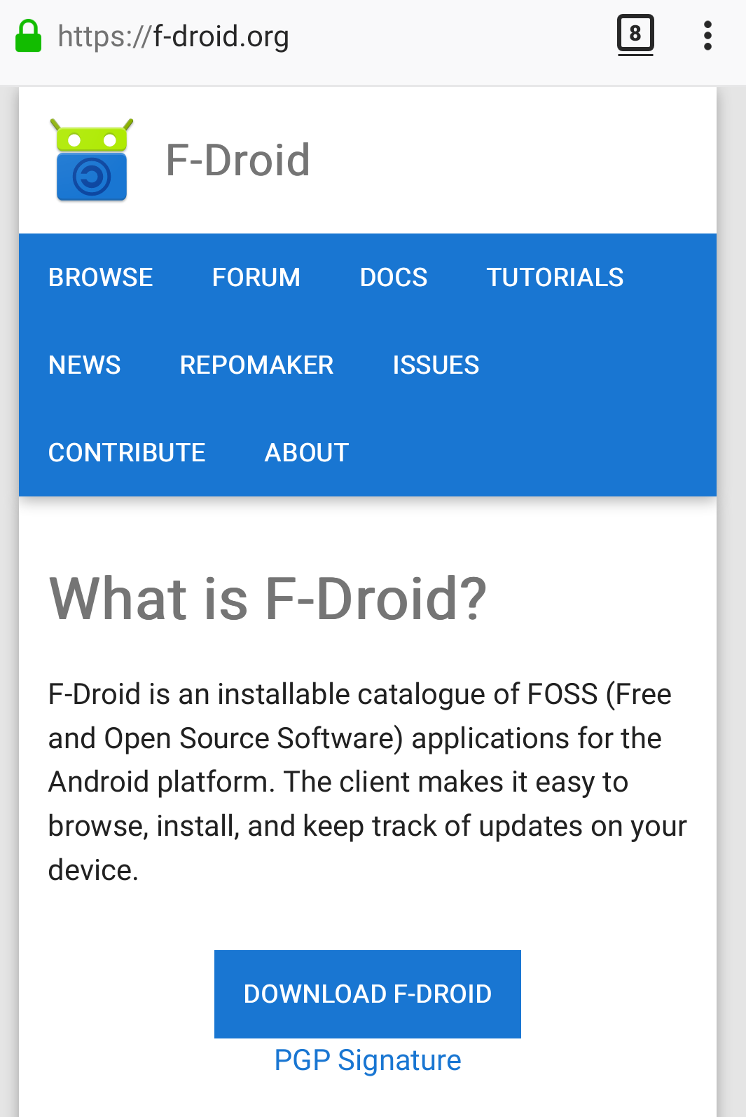 F-Droid-FOSS-Android-1